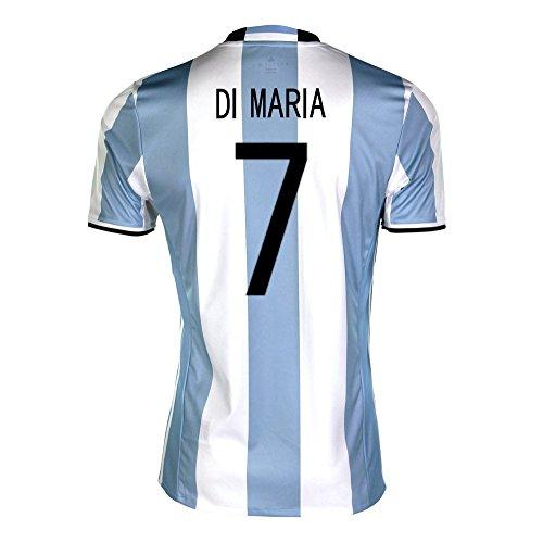 経歴欺情緒的adidas Di Maria #7 Argentina Home Soccer Jersey Copa America Centenario 2016 YOUTH/サッカーユニフォーム アルゼンチン ホーム用 ディ?マリア ジュニア向け