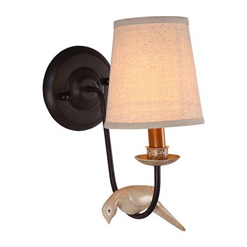 Murale Simple Lamp Chevet Style Lampe Pastoral De Couloir Birdie CxtshQdr