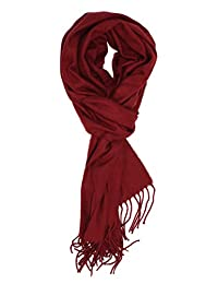 Truman & Sons - Classic Cashmere Feel Simple Solid Scarf