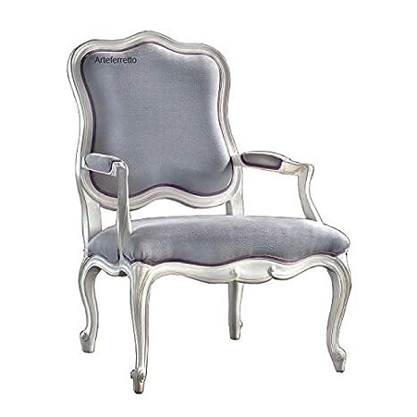 Arteferretto - sillón Bergère con reposabrazos, Asiento y ...