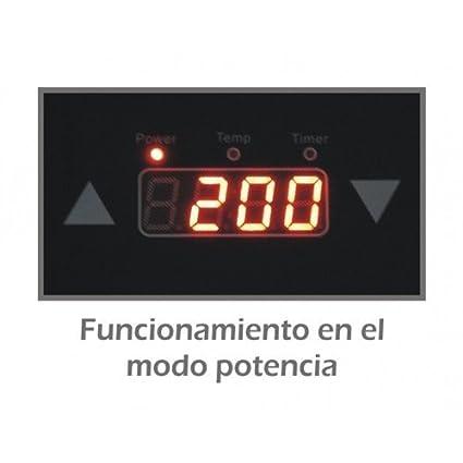 Mx Onda MX-PIP2199 Placa de inducción portátil doble, 2000 W, 0 Decibeles, Negro: Amazon.es: Grandes electrodomésticos
