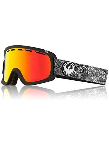Dragon Alliance D1 OTG Ski Goggles, Black, Kengo Kimura DAP/Luma Red Ion Lens