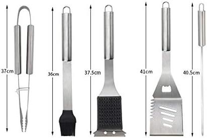 Yzyamz Barbecue Ustensiles Kit en Acier Inoxydable Outils De Barbecue Ensemble D'outils De Barbecue Gril Accessoires