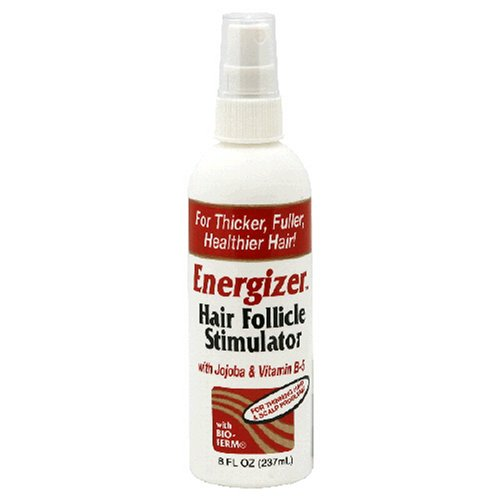 Energizer Hair Follicle Stimulator, with Jojoba and Vitamin B-5, 8-Ounces (Pack of 2) (Hair Energizer)