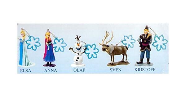 Amazon.com: Disney Frozen Collectible Keychain Box Set: Toys ...