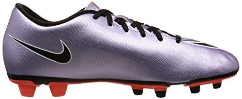 Nike Mercurial Vortex II FG Botas de fútbol, Hombre Morado / Negro / Amarillo / Blanco (Urbn Lilac / Blk-Brght Mng-White)