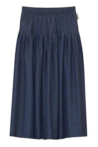 Baby'O Girl's Original BIZ Style Long Blue Denim Skirt-S by Baby'O Clothing Co.