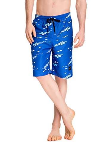 Trailside Supply Co. Mens Surf Shorts Outdoor Water Sports Surfing Board Shorts with Pocket