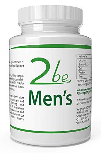 2be Mens: Vitalidad + Esperma + Placer=90 cápsulas | Vegano: Amazon.es: Salud y cuidado personal