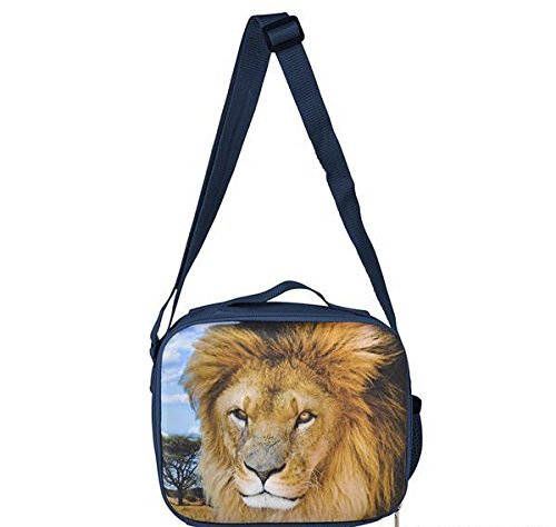 8'' 3D FOAM LION LUNCH PACK, Case of 24