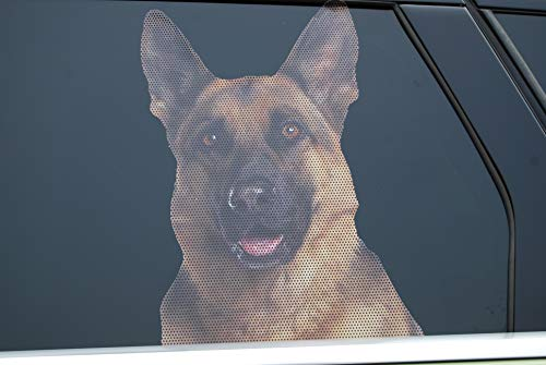 Doggie in the Window car and Truck Window Dog Decal - German Shepherd