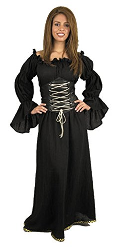 Adult Gypsy Fortune Teller Costume Size: Women's X-Small 3-5 (Fair Maiden Renaissance Costume)
