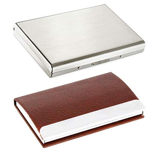Billionbag 1131 Card Holder - Pack Of 2 (Silver) Rs. 359  ( 76%  Discount).