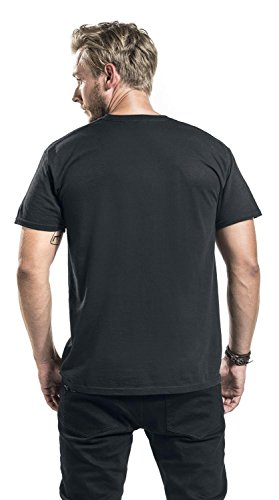 Sons Of Anarchy Blood Loyalty Camiseta Negro Negro