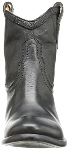 FRYE Womens Carson Shortie Ankle Boot Black Washed Antique Pull Up oTjZjKQ