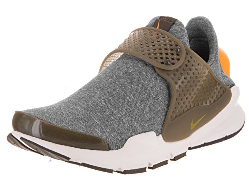 Nike Womens Sock Dart SE Running Shoes Dark Loden/Gold Leaf