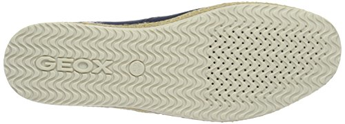 Geox Men's U Copacabana C Espadrilles, Yellow Blue (Navyc4002)