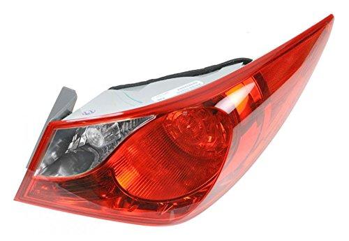 Taillamp Passenger Right RH Fits 11-13 Hyundai Sonata (Right Hyundai Sonata)