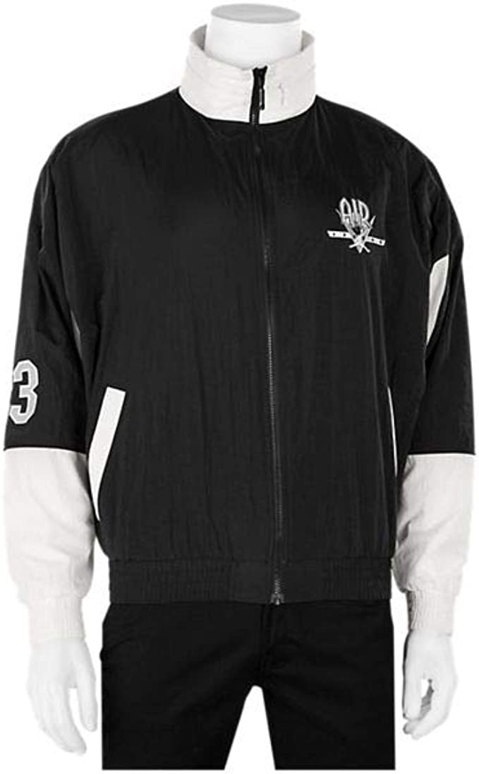 Meno Conosci superare  Jordan Legacy Flight Nostalgia AJ9 Retro Jacket at Amazon Men's Clothing  store