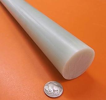 "UHMW-PE Round Rod .75/"" diameter x 12/"" long"