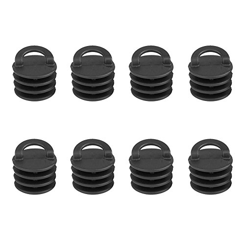 Gimiton Kayak Marine Boat Scupper Stoppers Scupper Plugs bungs for Kayak Canoe Boat Drain Holes Plugs Replacement (8)