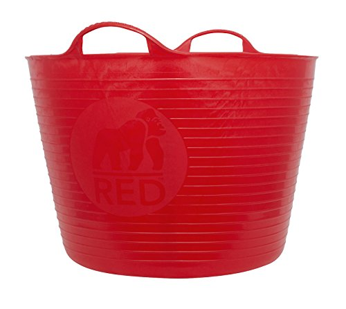 (Tubtrugs Large 10 Tub, 10 Gallon, Red)