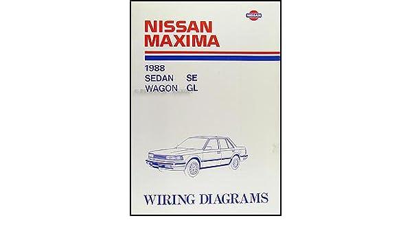 1988 Nissan Maxima Wiring Diagram Manual Original: Nissan ... on 4th gen maxima, crimson black maxima, 1996 nissan maxima, 2 door maxima, vip maxima, 2015nissan maxima,