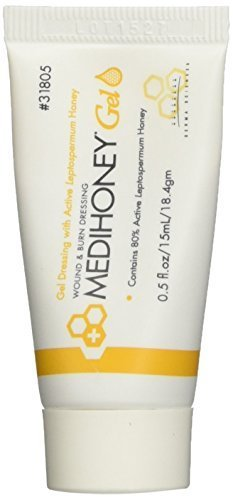 Improved Medihoney Gel Wound and & Burn Dressing from Derma Sciences, 0.5 oz,