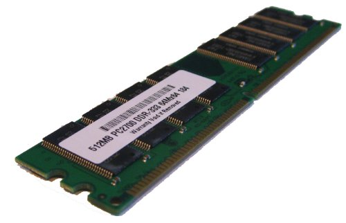 (512MB PC2700 333MHz 184 pin DDR SDRAM Non-ECC DIMM Desktop Memory RAM for Dell Dimension 2350(PARTS-QUICK BRAND))