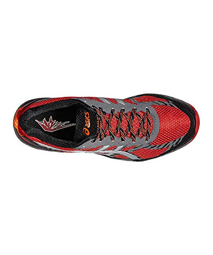 ASICS Gel Fujitrabuco 5 Rojo Plata T6J0N 2393: Amazon.es