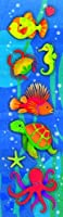 Amscan Underwater Friends Metallic Stickers - 8 sheets