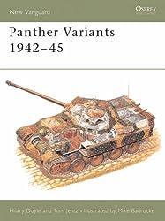 Panther Variants, 1943-45 (Osprey New Vanguard)