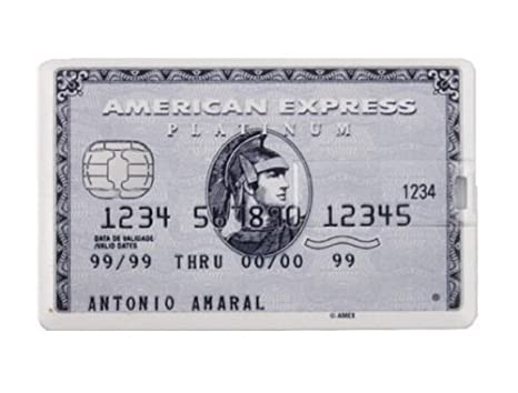 Tarjetas de Crédito Elegantes Pendrive Memoria USB DP561 (8GB, F)