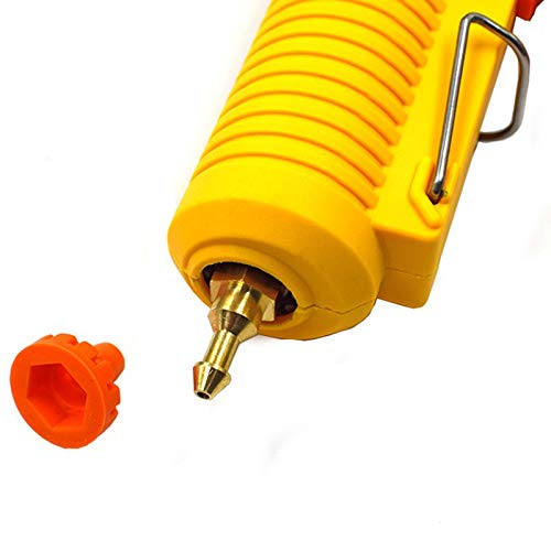 TOOGOO 150W Diy Hot Melt Colle Outil 11 Mm Baton Adh/éSif Industriel Silicone /éLectrique Outils Thermo R/éParation Chaleur Outils Eu Plug