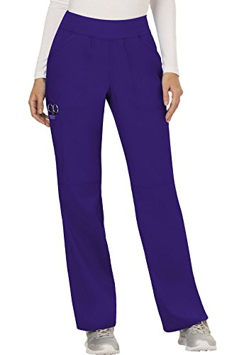 CHEROKEE Women's Mid Rise Straight Leg Pull-on Pant Tall