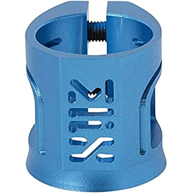 Madd Gear MFX X2 Cobra Anodized Blue Scooter Clamp : Sports & Outdoors