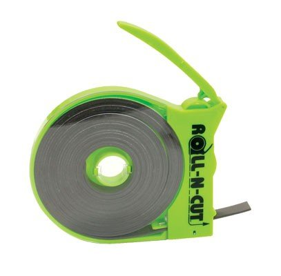 (Baumgartens Products - Magnetic Tape, w/Dispenser, 1/2amp;quot;x15', Black Tape/Green Disp. - Sold as 1 EA - Magnetic tape comes in a dispenser that makes mounting with magnetic tape easy. Simply)