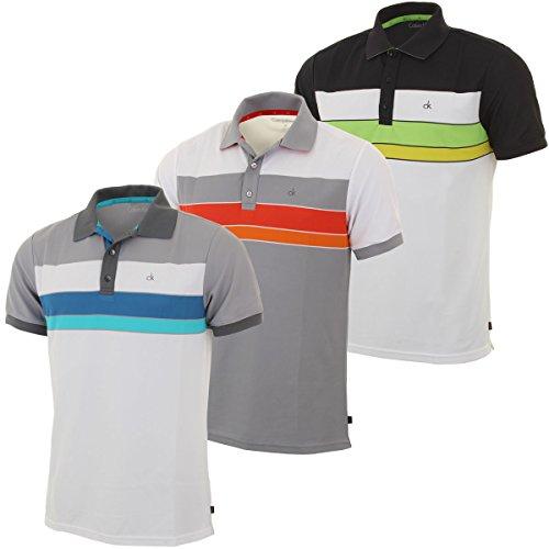 Calvin Klein Golf Men's CK Graphic Block Polo Shirt