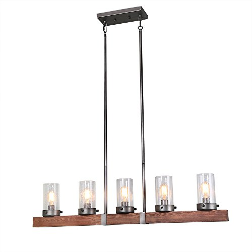 Kitchen Island Chandelier Lighting 5-Light Pendant Lights (Five Light Island Chandelier)