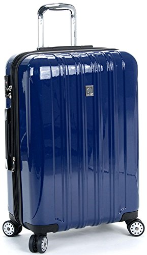 Delsey Luggage Helium Aero 25 Inch Expandable Spinner Trolley, Cobalt Blue,One Size