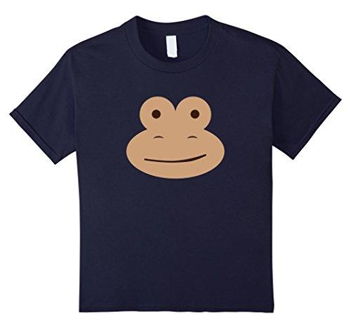 Youth Sock Monkey Costume (Kids Monkey - Sock Monkey - Funny Monkey Halloween Costume 8 Navy)
