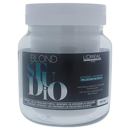 Professional Lightening (L'Oreal Professional Blond Studio Platinum Plus Fast Action Lightening Paste, 17 Ounce)