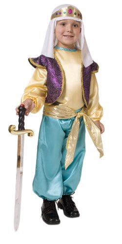 [Arabian Sultan Boys Costume - Toddler 2T] (26 Halloween Costumes For Toddlers)