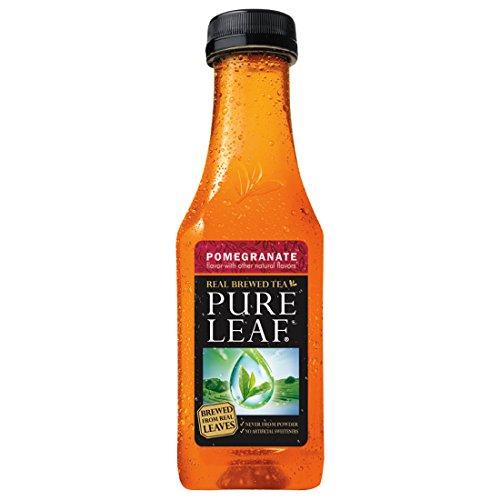 Pure Leaf Iced Tea, Pomegranate, Real Brewed Tea, 18.5 Ounce (Pack of 12)