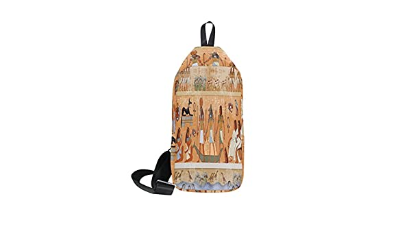 DragonSwordlinsu COOSUN Antiguo Egipto Scene Sling Bag