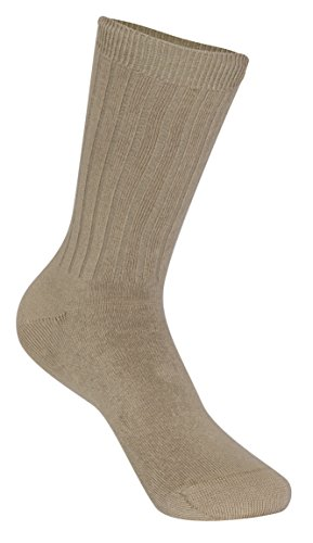 CLASSROOM Little Boys Uniform Ribbed Crew Socks (3 Pack)
