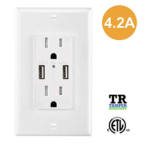 DbillionDa Charger Outlets Receptacles Compatible product image