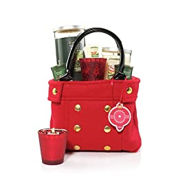 Yankee Candle Red Coat Tote Gift Set