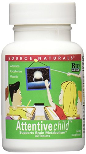 SOURCE NATURALS Attentive Child Tablet, 30 ()
