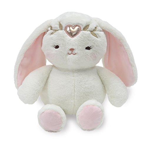 - Lambs & Ivy Confetti Plush Pixie Bunny, Pink/Gold